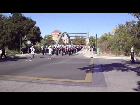 Paso Robles High School Bearcat Marching Band - Colony Days Parade 2013