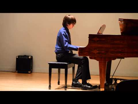 Roman's Piano Recital 2015
