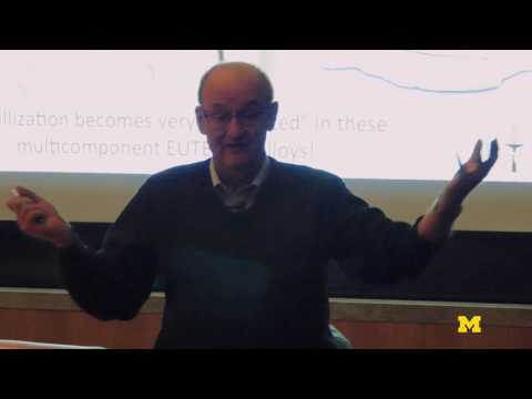 William Johnson | What are Glasses?: Atomic Organization and the Price of Non-Conformity