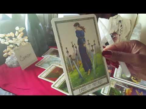 Cancer June 2018 Tarot Reading - BITE THE BULLET ON EXPENSES