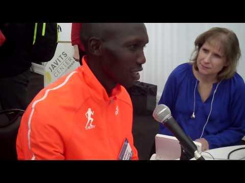 Wilson Kipsang Looking for WMM Victory at 2014 TCS NYC Marathon