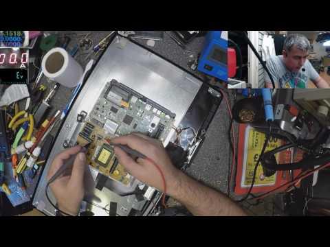 Toshiba 24 inch tv, dead, no power