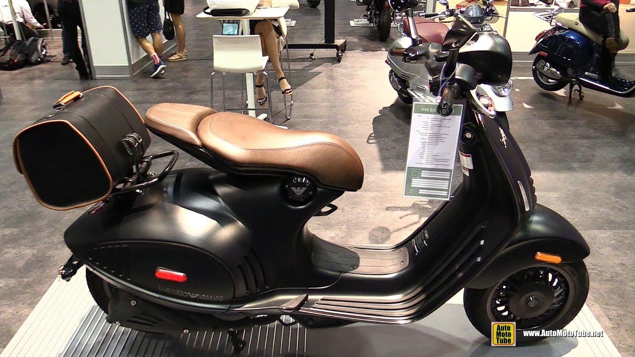 d250f902abb 2017 Vespa 946 150cc ABS Emporio Armani Edition - Walkaround - 2016 AIMExpo  Orlando - YouTube