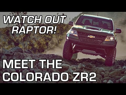 Chevy Colorado Takes Z High Road - Autoline After Hours 362