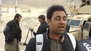 pkk and ybş fighters seized an isis otokar apv in shingal