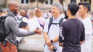 Walking Next To Strangers In Public (prank)