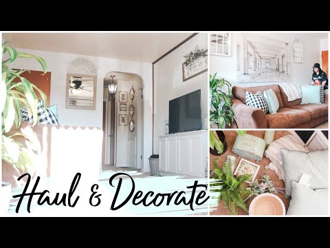SPRING DECORATE WITH ME 2019 | Best Home Decor on a BUDGET! Sensational Finds