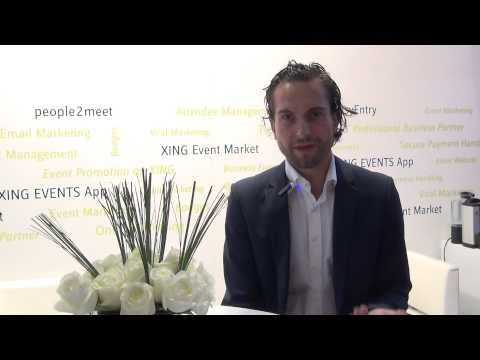 Interview with XING Events Dr Cai-Nicolas Ziegler