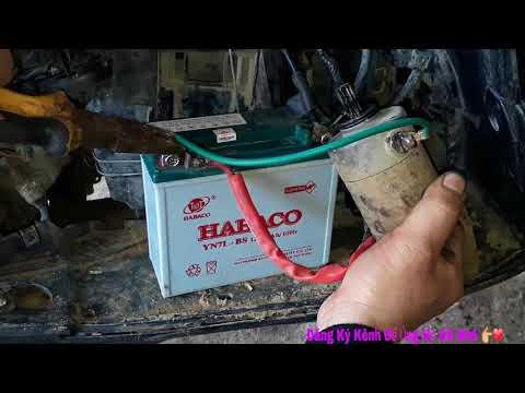 Tháo Sửa Củ Đề Xe Ga - Thay Chổi Than Cho Xe Máy - Sửa Xe Máy.(Motorcycle Repair) Dương Văn Hiếu