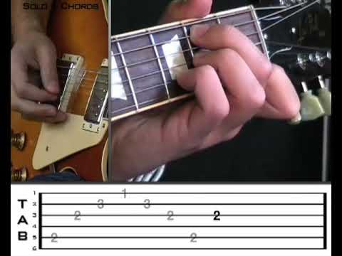 Gary Moore Parisienne Walkways lesson preview from vGuitarLessons ...