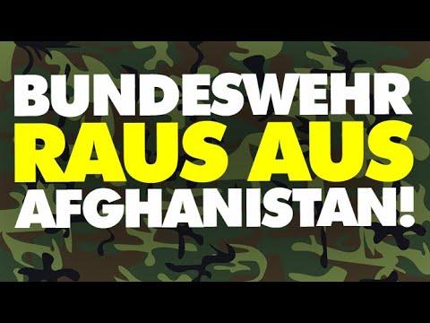 Bundeswehr raus aus Afghanistan!