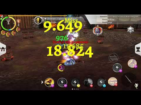 Order & Chaos 2 Again With Munnar In Fort Alone, But Game With Lag (green Ping) No Good