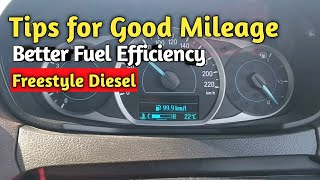 How to get a good mileage in Ford Freestyle Diesel and Petrol Variants | User review