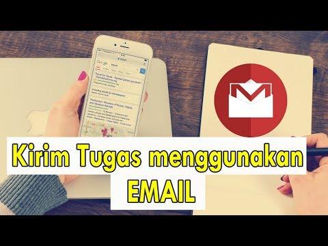 langkah-langkah mengirim file lewat email.
