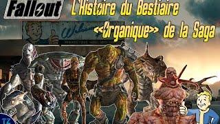 "Gambar cover Saga Fallout - Histoire du Bestiaire ""Organique"""