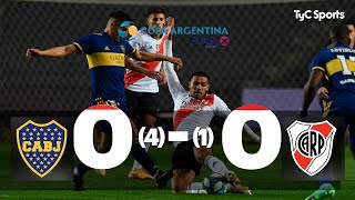 Boca 0 4 1 0 River I Copa Argentina