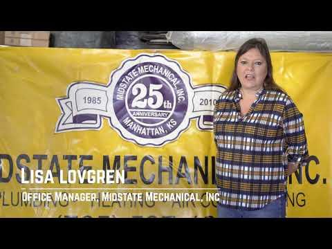 Midstate Mechanical Inc Manhattan Kansas 66502