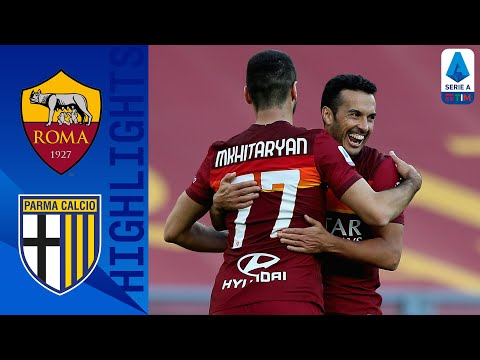 AS Roma Parma Goals And Highlights