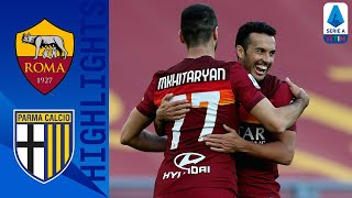 Roma 3-0 Parma | Mkhitaryan's Brace Helps Roma to Third Consecutive Win | Serie A TIM
