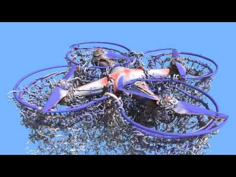 Air flow over DJI Phantom 3 simulation by NASA Ames Research