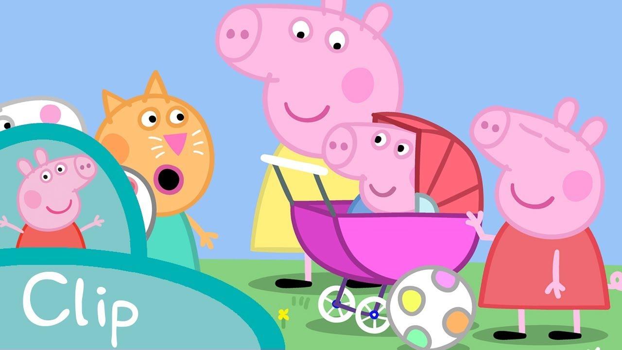 Peppa Pig Francais Bebe George Youtube