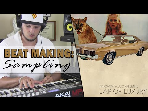Hip Hop Beat Making: Sampling Kingsway Music Lap of Luxury -
