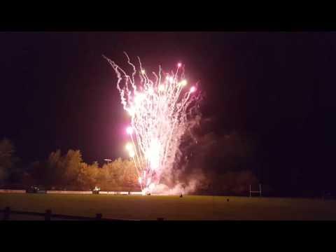 Fireworks  Newark-on-Trent  05 November 2015