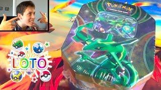[LOTO POKÉMON #3] Ouverture de la Pokébox RAYQUAZA EX ! JE SUIS LE ROI DES DRAGONS !