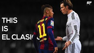 This Is El Clasico Red Cards Fights and Tackles HD