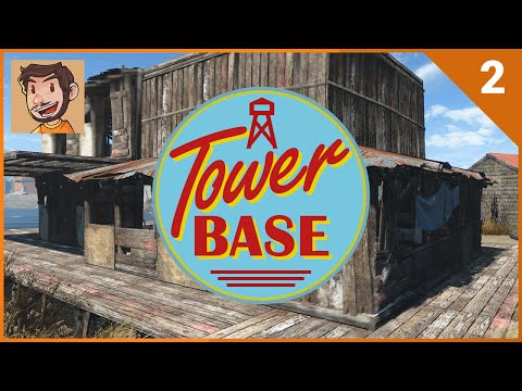 Settlement Builder Tycoon - Tower Base - Part 2 (Fallout 4)