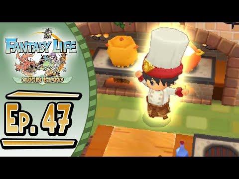 Fantasy Life - Origin Island :: # 47 :: GOD COOK!!!