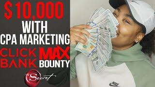 How To Make $10,000 w/ CPA Affiliate Marketing Using Law of Attraction (STEP BY STEP)