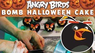 Angry Birds | Bomb Halloween Cake!