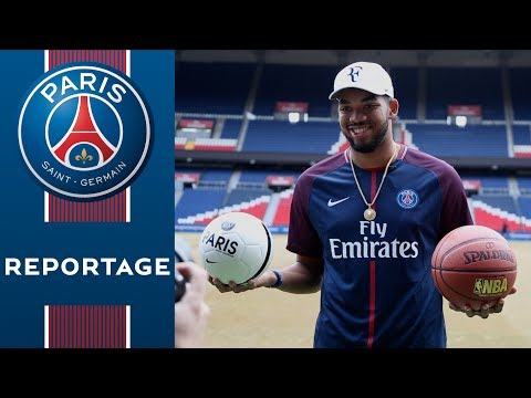 NBA - KARL-ANTHONY TOWNS at the Parc des Princes !