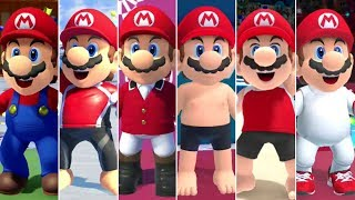 Mario & Sonic at the Olympic Games Tokyo 2020 - All Mario Outfits