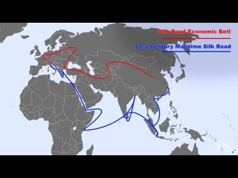 Image result for xi jinping's Marco Polo Road