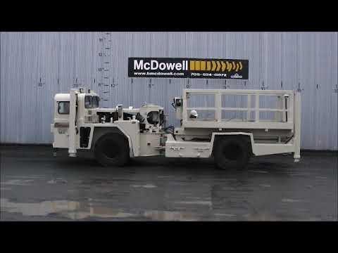 Getman A64 Underground Boom Truck B40-37