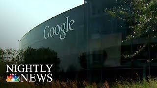 Google Hit With Gender Pay Discrimination Suit | NBC Nightly News
