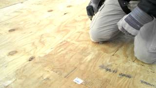 Eci Green, Inc.- Temporarily Securing A Flat Roof With Plywood & Rubber Membrane (part 1)