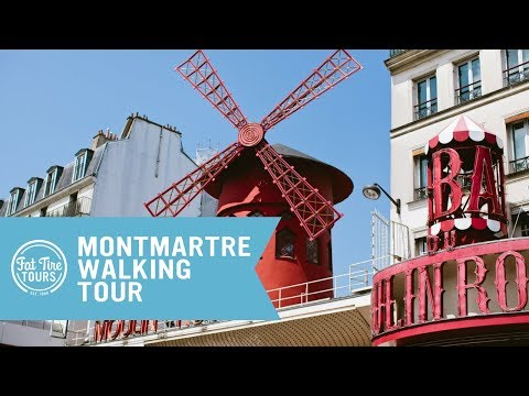 Montmartre Walking Tour | Fat Tire Tours