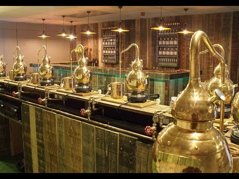 Make your own Gin at the Spirit of Masham Distillery!
