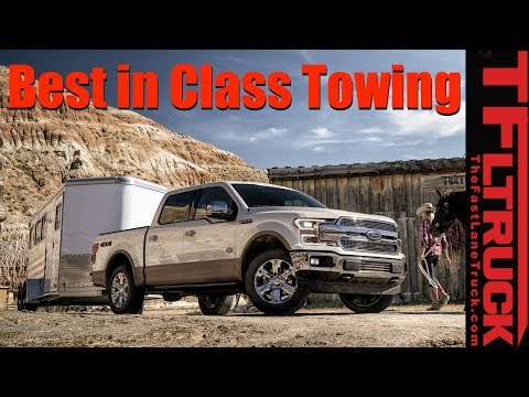 You Won't Believe How Much the New 2018 Ford F-150 Can Tow!