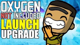 Loving the Cold on the Rime Asteroid So Far - Oxygen Not Included Gameplay - Launch Upgrade