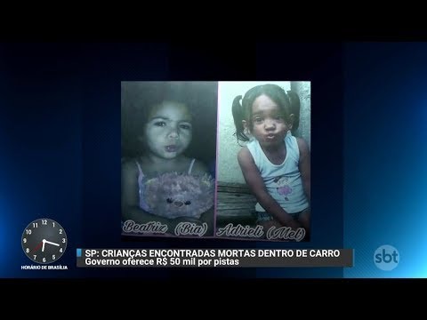 R$ 50 mil por pistas de envolvidos em morte de crianças   Primeiro Impacto (16/10/17)