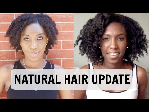 styling heat damaged natural hair hair update heat damage breakage styling 6122 | hqdefault