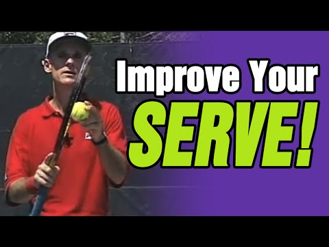 Tennis - How To Improve Your Serve | Tom Avery Tennis 239.592.5920