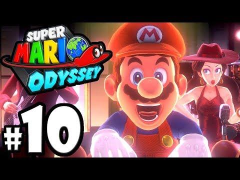 Super Mario Odyssey - Nintendo Switch Gameplay Walkthrough PART 10: Pauline's New Donk City Festival