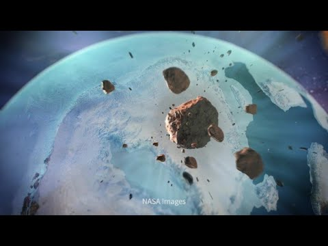 Greenland's giant crater