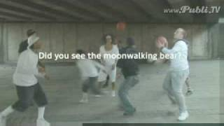 Moonwalking bear