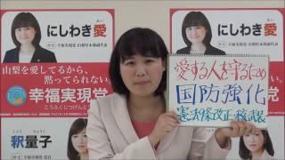 西脇愛氏【平和安全法制】